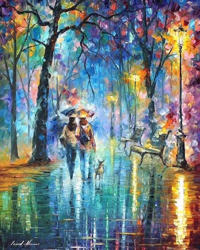 dipinti-olio-impressionismo-paesaggi-autunno-leonid-afremov-09