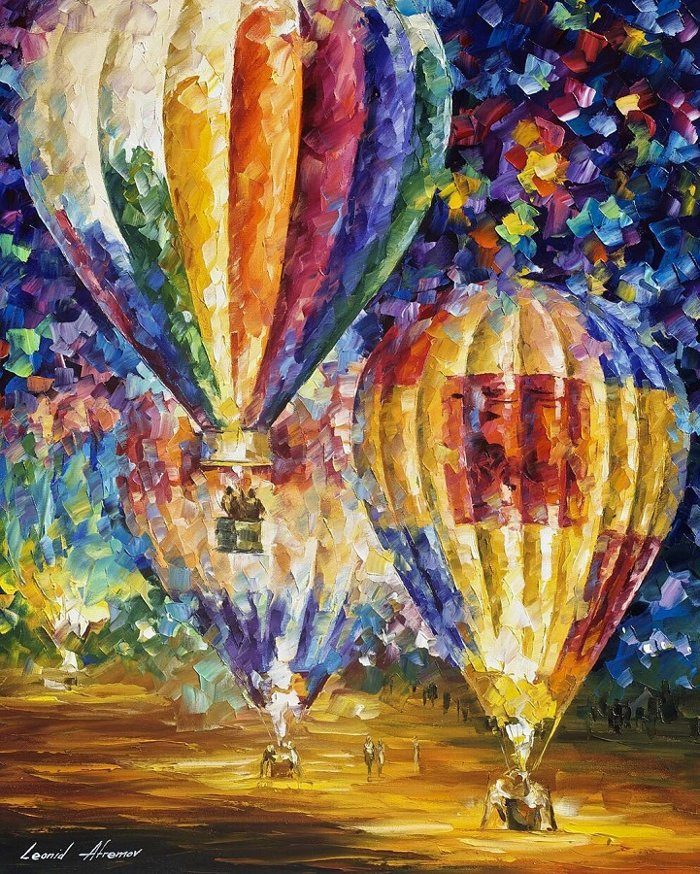 Colorati dipinti autunnali ad olio - KEBLOG