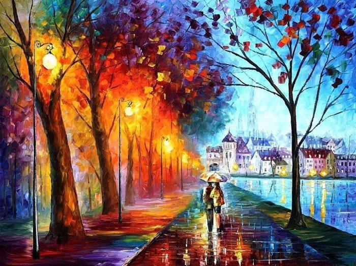 dipinti-olio-impressionismo-paesaggi-autunno-leonid-afremov-14
