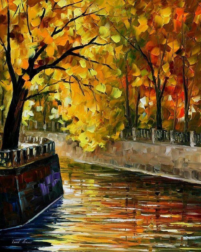 dipinti-olio-impressionismo-paesaggi-autunno-leonid-afremov-15