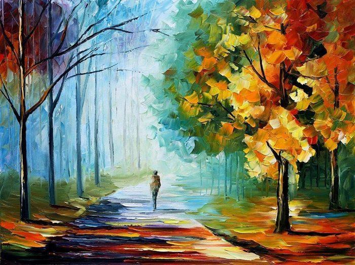 dipinti-olio-impressionismo-paesaggi-autunno-leonid-afremov-16