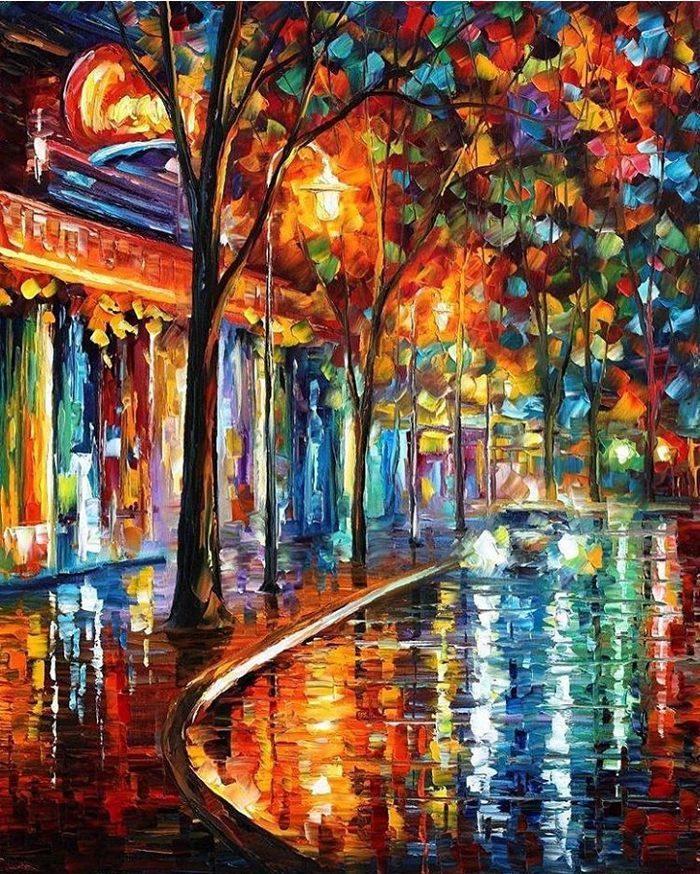 dipinti-olio-impressionismo-paesaggi-autunno-leonid-afremov-17