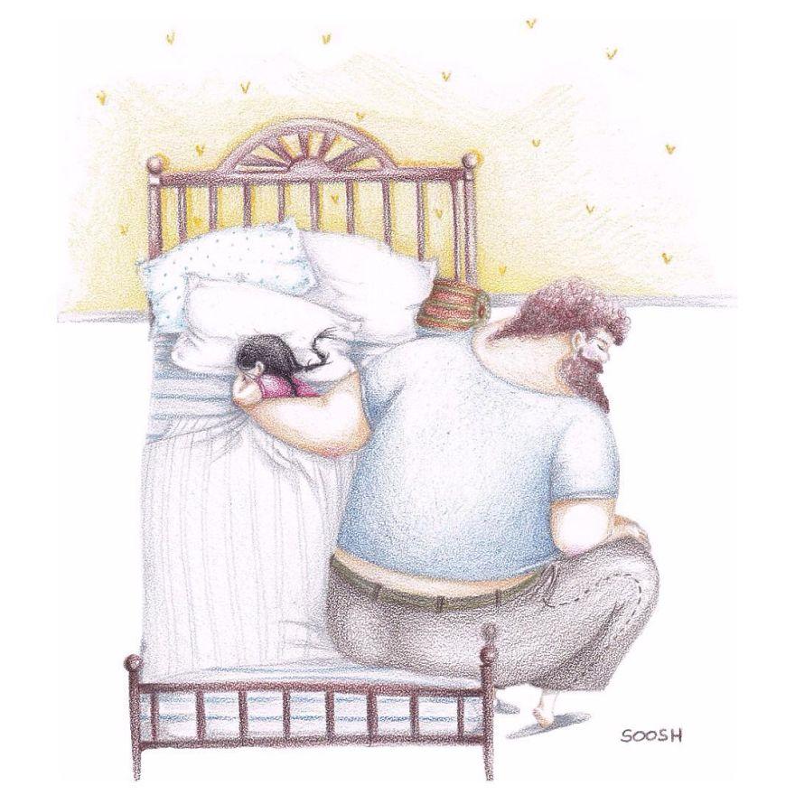 dolci-immagini-amore-tra-padre-e-figlia-piccola-bambina-02