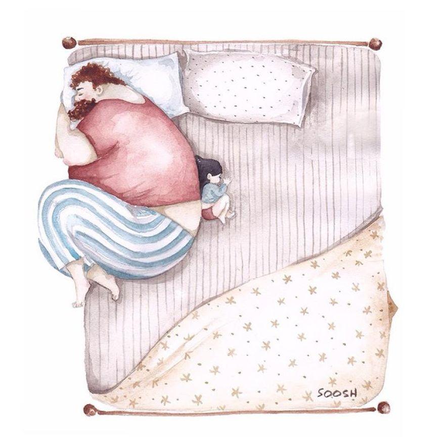 dolci-immagini-amore-tra-padre-e-figlia-piccola-bambina-06