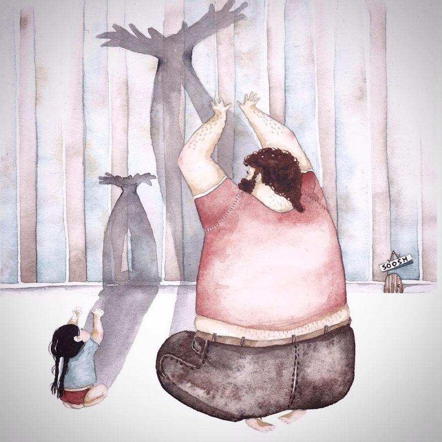 dolci-immagini-amore-tra-padre-e-figlia-piccola-bambina-09