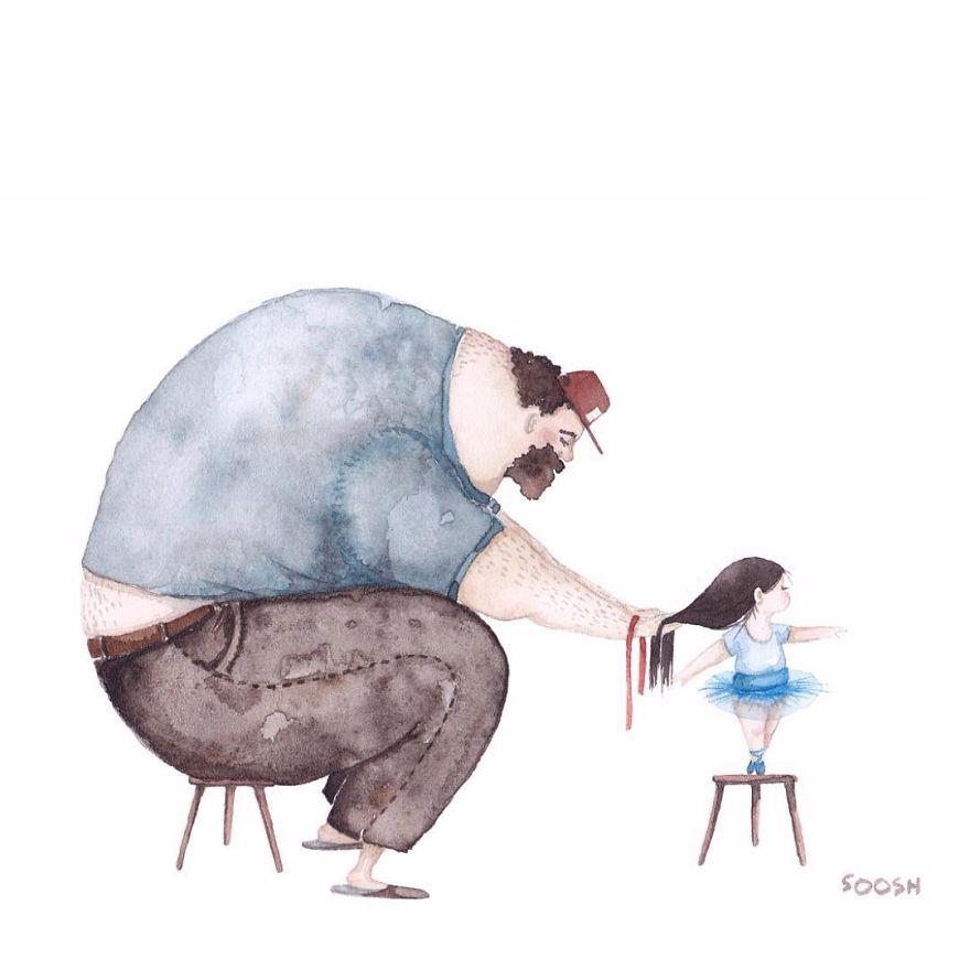 dolci-immagini-amore-tra-padre-e-figlia-piccola-bambina-10