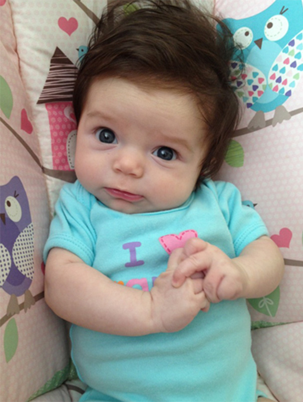 Favorito neonati-testa-piena-di-capelli-28 - KEBLOG FF41