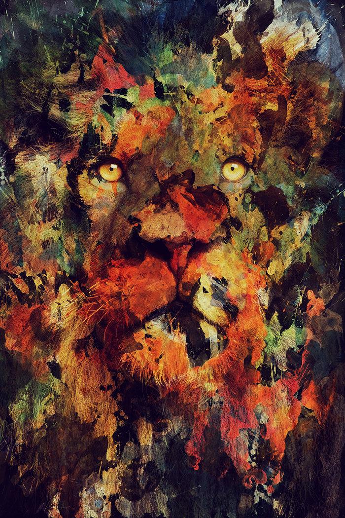 ritratti-animali-acquerello-andreas-lie-1