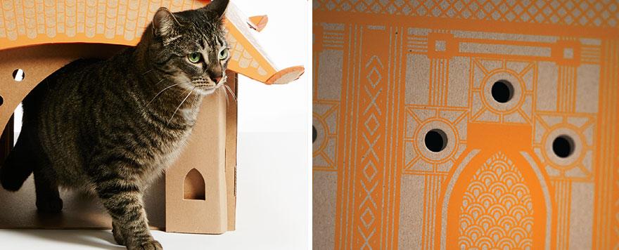 scatole-cartone-case-per-gatti-ispirate-famose-architetture-poopy-cat-02