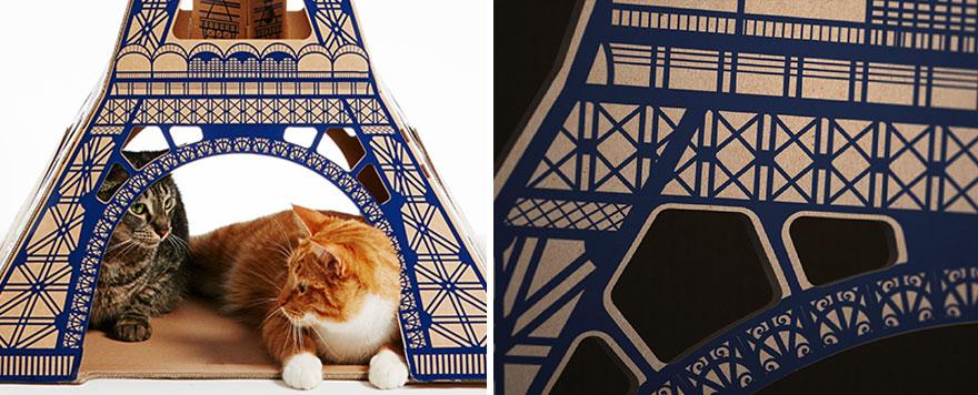 scatole-cartone-case-per-gatti-ispirate-famose-architetture-poopy-cat-05