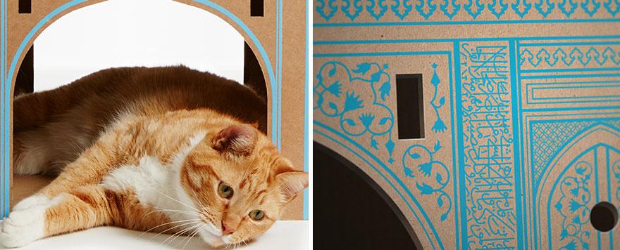 scatole-cartone-case-per-gatti-ispirate-famose-architetture-poopy-cat-13