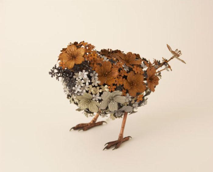 sculture-animali-fiori-metallo-rame-argento-taiichiro-yoshida-01