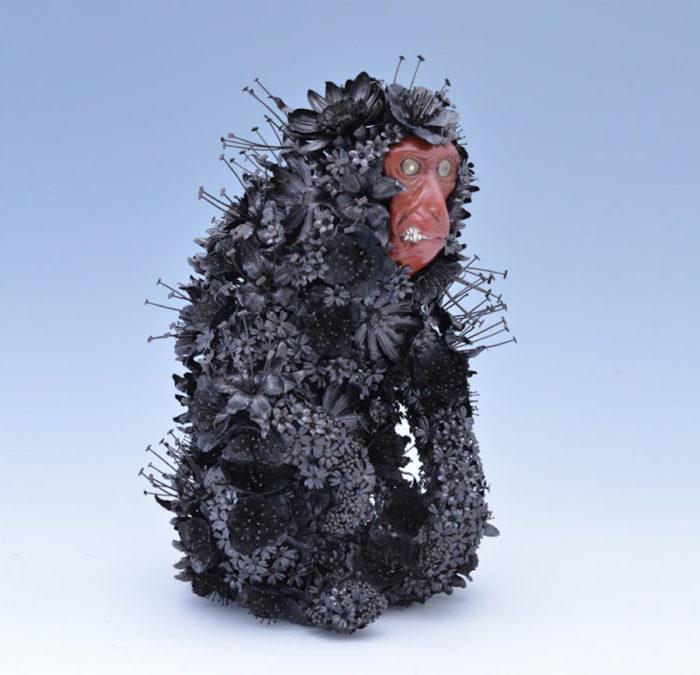 sculture-animali-fiori-metallo-rame-argento-taiichiro-yoshida-05
