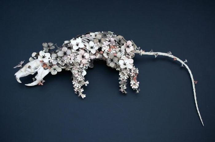 sculture-animali-fiori-metallo-rame-argento-taiichiro-yoshida-08