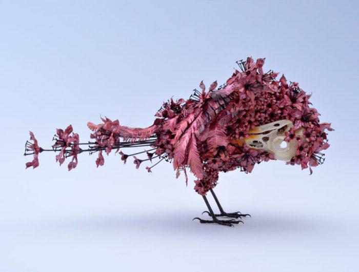 sculture-animali-fiori-metallo-rame-argento-taiichiro-yoshida-12