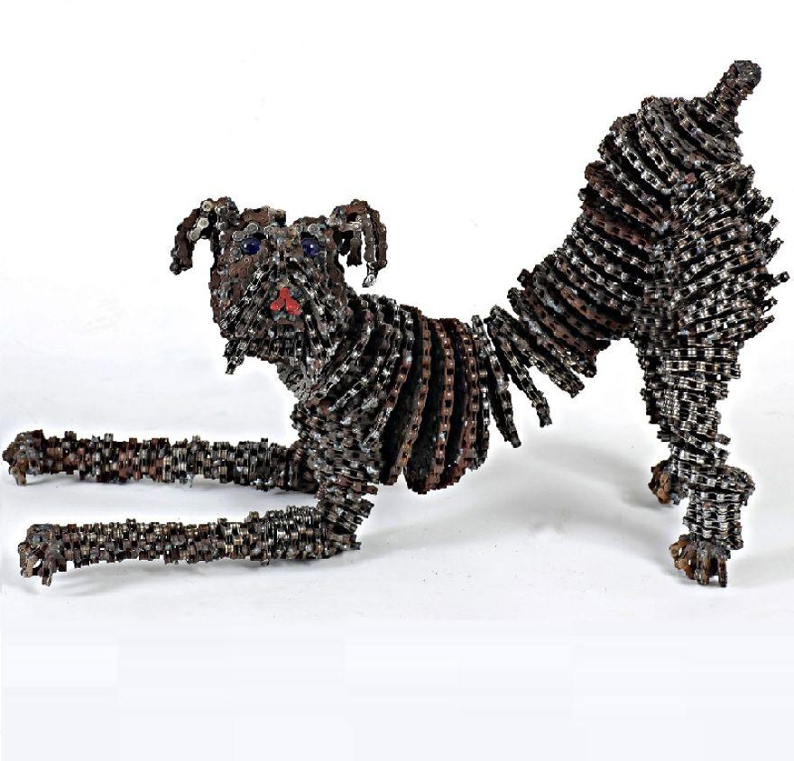 sculture-cani-grandezza-naturale-fatte-pezzi-biciclette-riciclate-unchained-nirit-levav-01