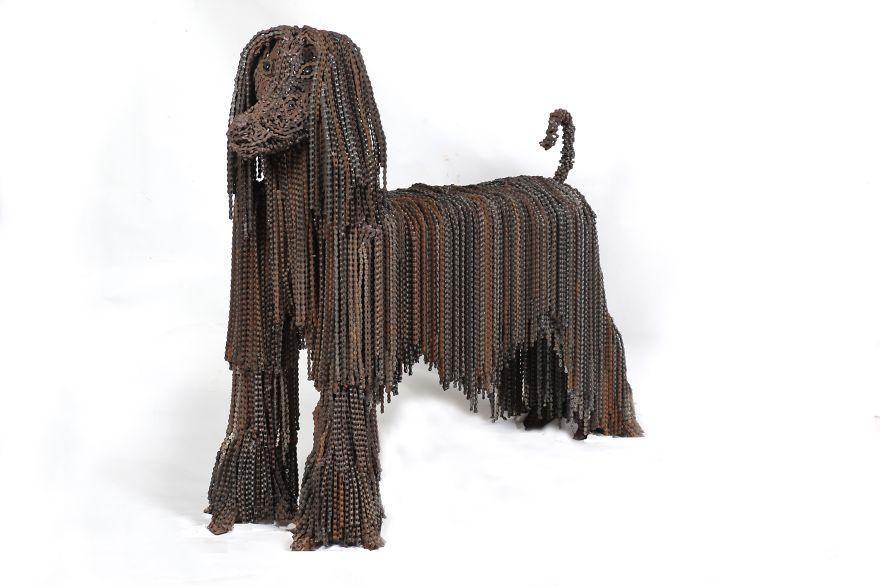 sculture-cani-grandezza-naturale-fatte-pezzi-biciclette-riciclate-unchained-nirit-levav-02