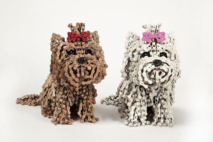 sculture-cani-grandezza-naturale-fatte-pezzi-biciclette-riciclate-unchained-nirit-levav-03