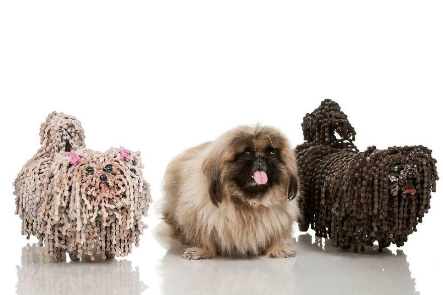sculture-cani-grandezza-naturale-fatte-pezzi-biciclette-riciclate-unchained-nirit-levav-11