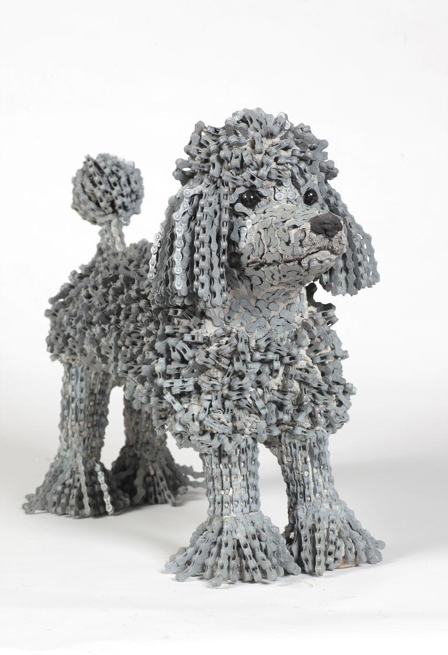 sculture-cani-grandezza-naturale-fatte-pezzi-biciclette-riciclate-unchained-nirit-levav-12