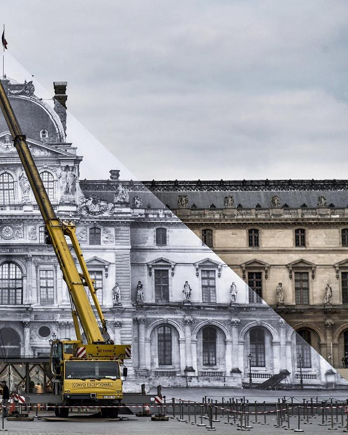 JR-installazione-piramide-louvre-ricoperta-parigi-3