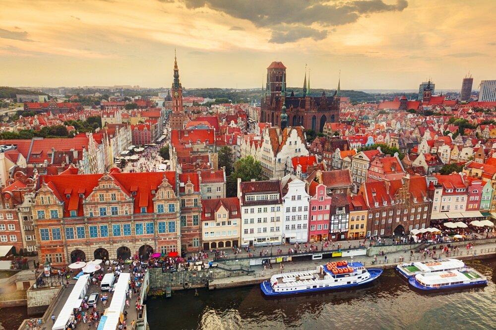 Città Europee Da Visitare Danzica Polonia