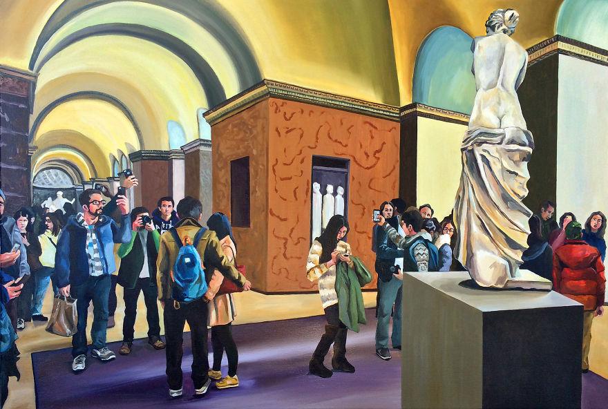 dipinti-olio-visitatori-louvre-parigi-michelle-ramin-1