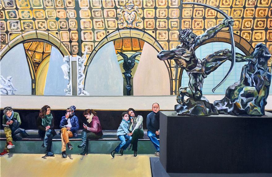 dipinti-olio-visitatori-louvre-parigi-michelle-ramin-5