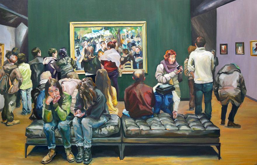 dipinti-olio-visitatori-louvre-parigi-michelle-ramin-8