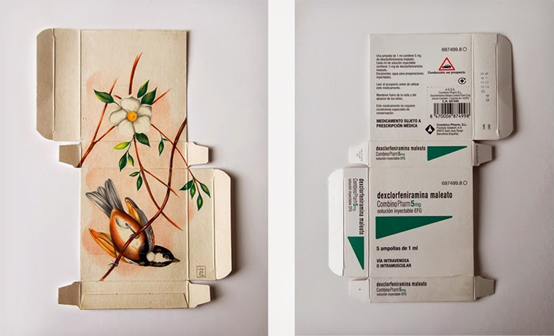 dipinti-uccelli-scatole-farmaci-confezioni-sara-landeta-8