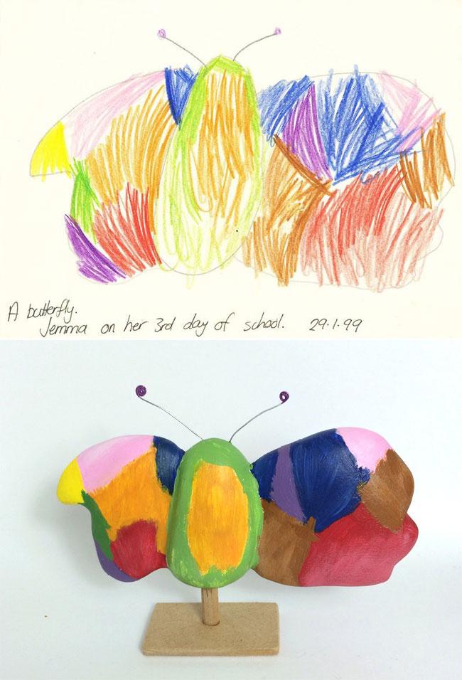 disegni-diventano-giocattoli-statuette-argilla-02