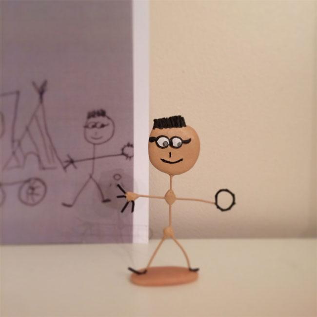 disegni-diventano-giocattoli-statuette-argilla-04