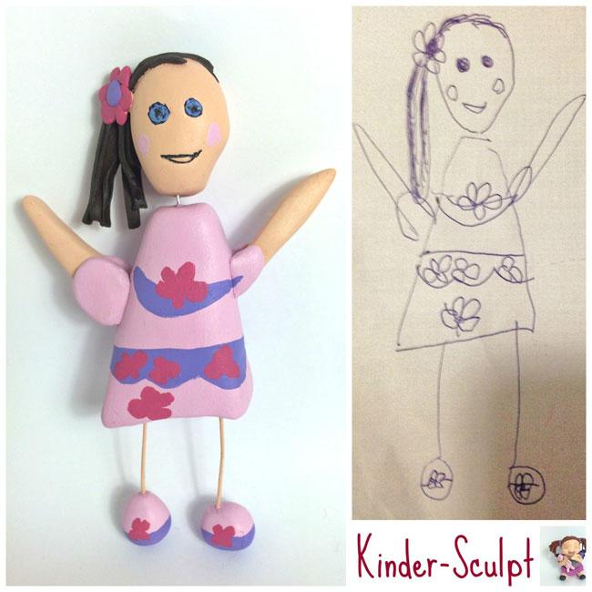 disegni-diventano-giocattoli-statuette-argilla-11