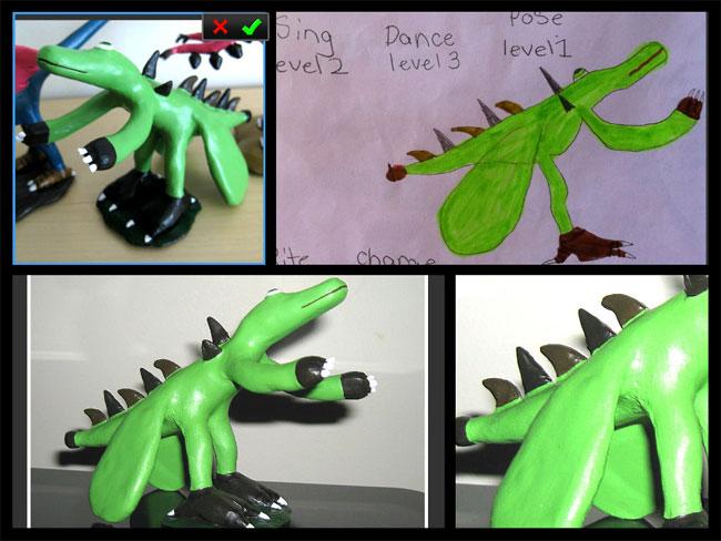 disegni-diventano-giocattoli-statuette-argilla-13