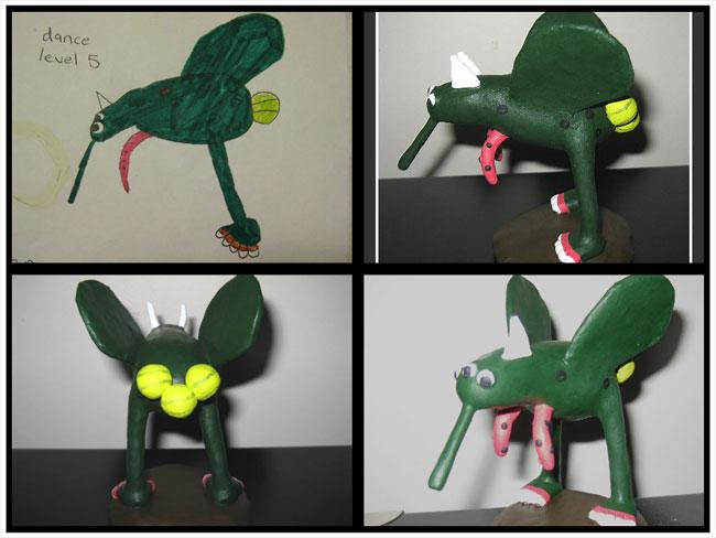 disegni-diventano-giocattoli-statuette-argilla-14