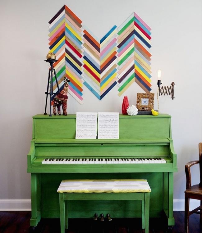 20 brillanti idee per decorare le pareti del tuo for Esempi arredamento