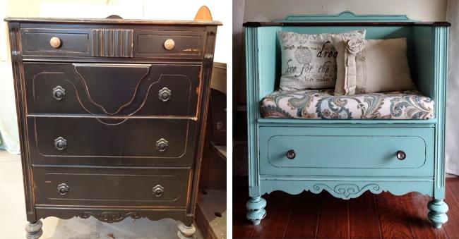 15 idee brillanti per dare nuova vita a vecchi mobili keblog - Recupero mobili vecchi ...