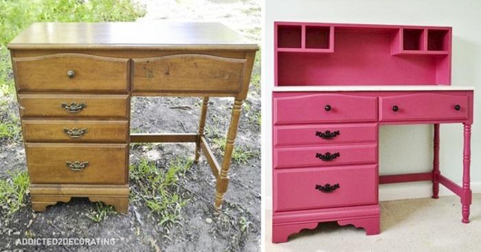 15 idee brillanti per dare nuova vita a vecchi mobili keblog - Como restaurar muebles ...