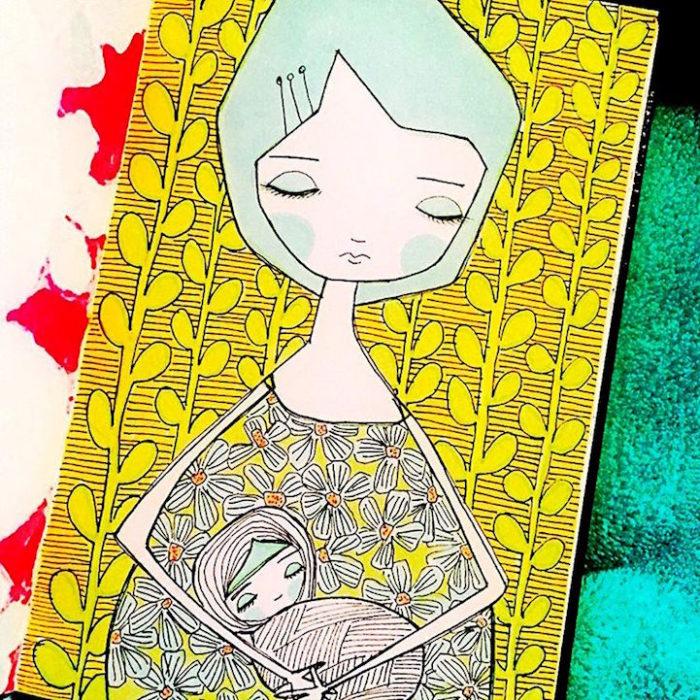 illustrazioni-maternita-madre-figlia-sora-ceballos-lopez-06