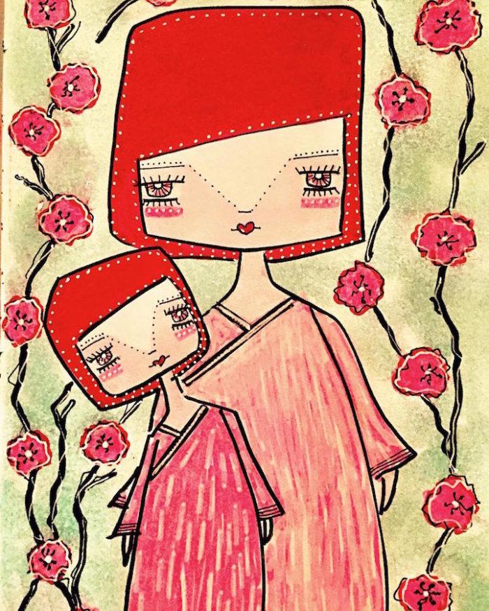 illustrazioni-maternita-madre-figlia-sora-ceballos-lopez-07