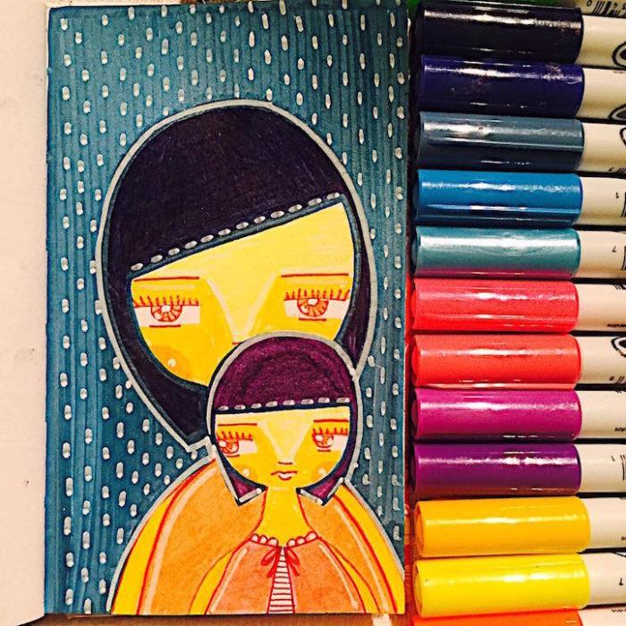 illustrazioni-maternita-madre-figlia-sora-ceballos-lopez-08