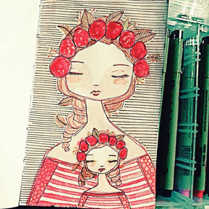 illustrazioni-maternita-madre-figlia-sora-ceballos-lopez-14