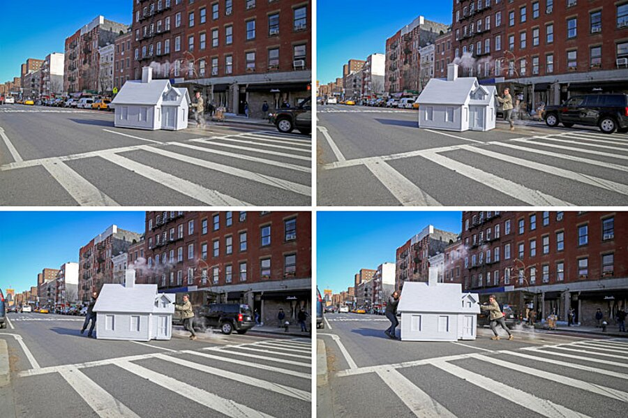 installazione-arte-casetta-strade-tombini-new-york-mark-reigelman-6
