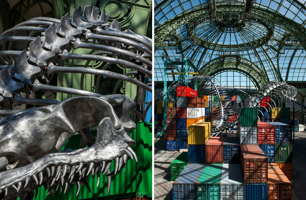 installazione-scheletro-serpente-empires-huang-yong-ping-monumenta-parigi-03