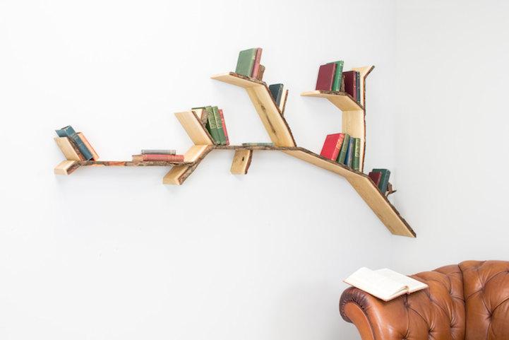 Originali librerie a forma di albero - KEBLOG