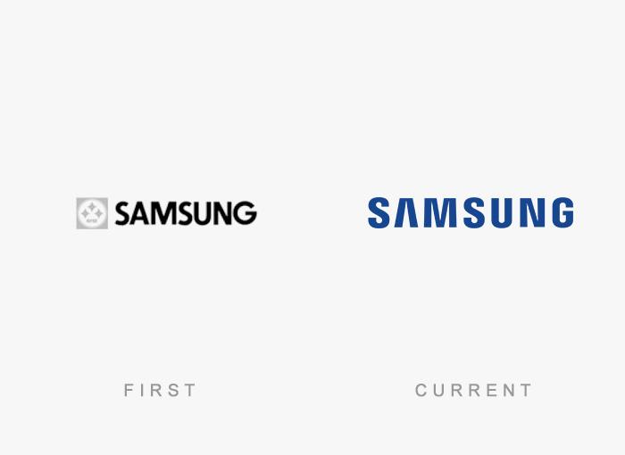 Loghi famosi ieri oggi originali inizi, Samsung