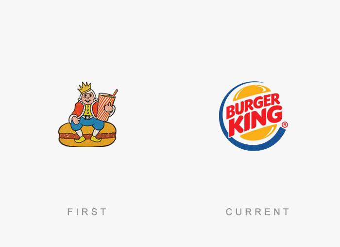 Loghi famosi ieri oggi originali inizi, Burger King