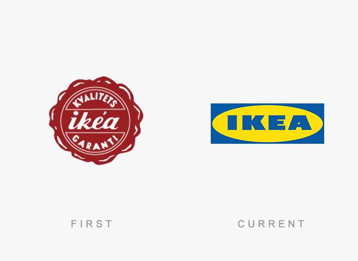 Loghi famosi ieri oggi originali inizi, Ikea