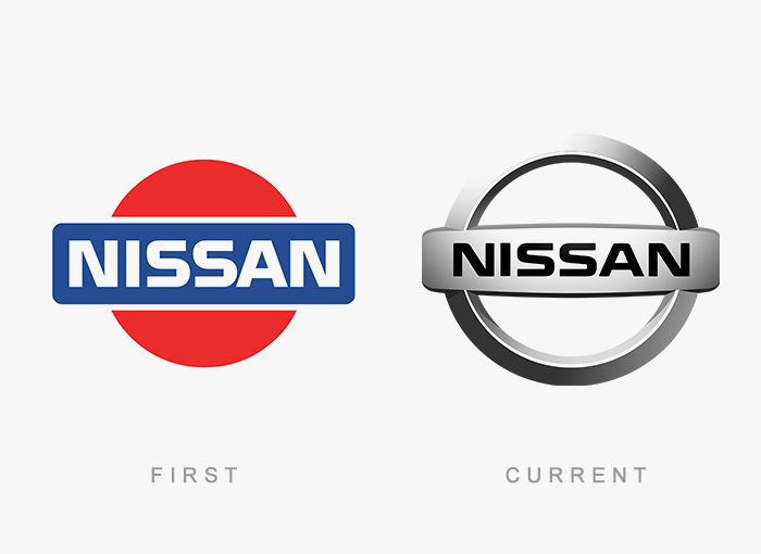 Loghi famosi ieri oggi originali inizi, Nissan