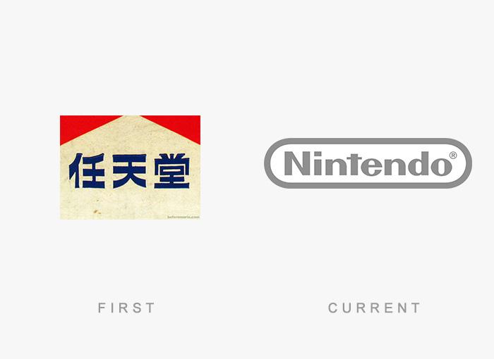 Loghi famosi ieri oggi originali inizi, Nintendo